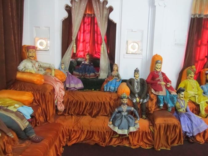 Puppet museum in Bagore ki haveli.