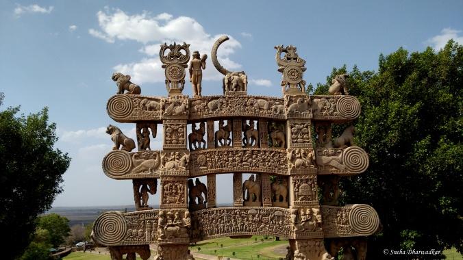 Toran of Stupa 1